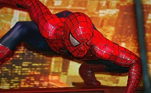 BR: Spider-Man 2 At Madame Tussauds - Photocall