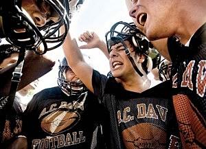 davis high school football