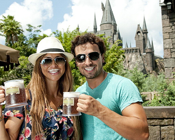 Aylin Mujica Visits The Wizarding World Of Harry Potter