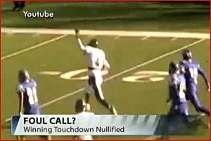 High School Touchdown