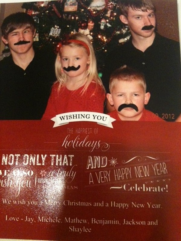What Do You Think Of Our Family Christmas Card?