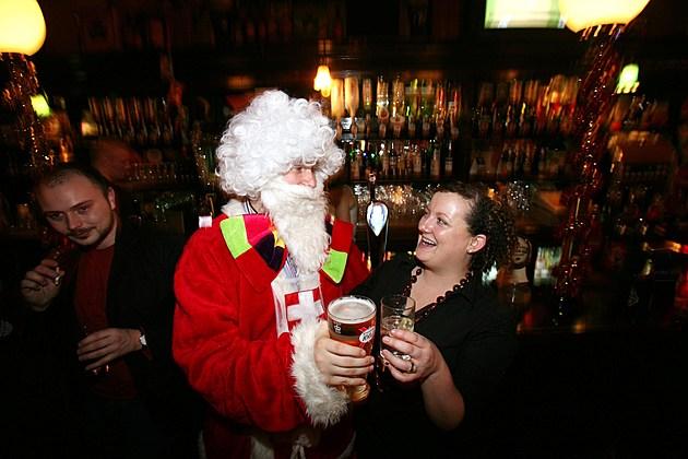 Christmas Party Season Begins In The UK