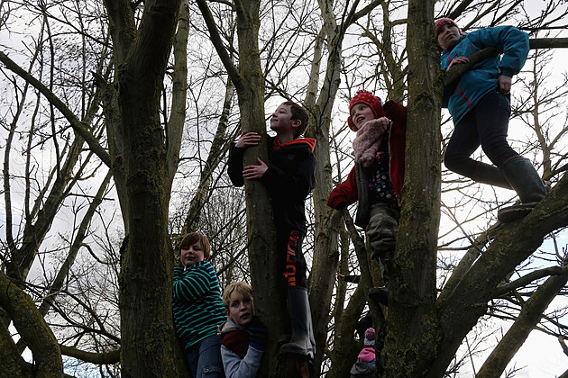 Royal Shrovetide Football Match Takes Place In Ashbourne