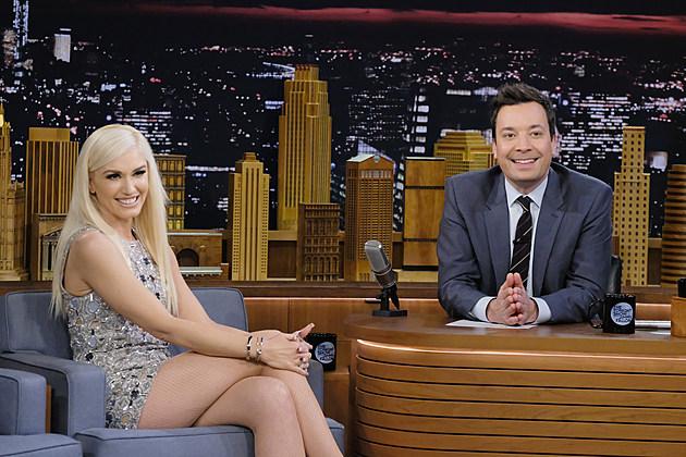 "Gwen Stefani Visits ""The Tonight Show Starring Jimmy Fallon"""